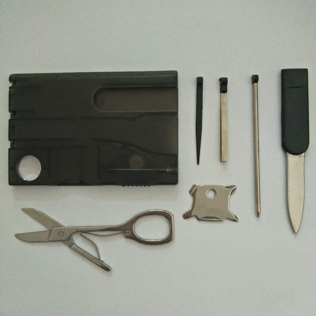 12 in 1 Card Camping Tool (1+1)