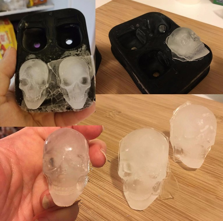Skull Ice Cubes!