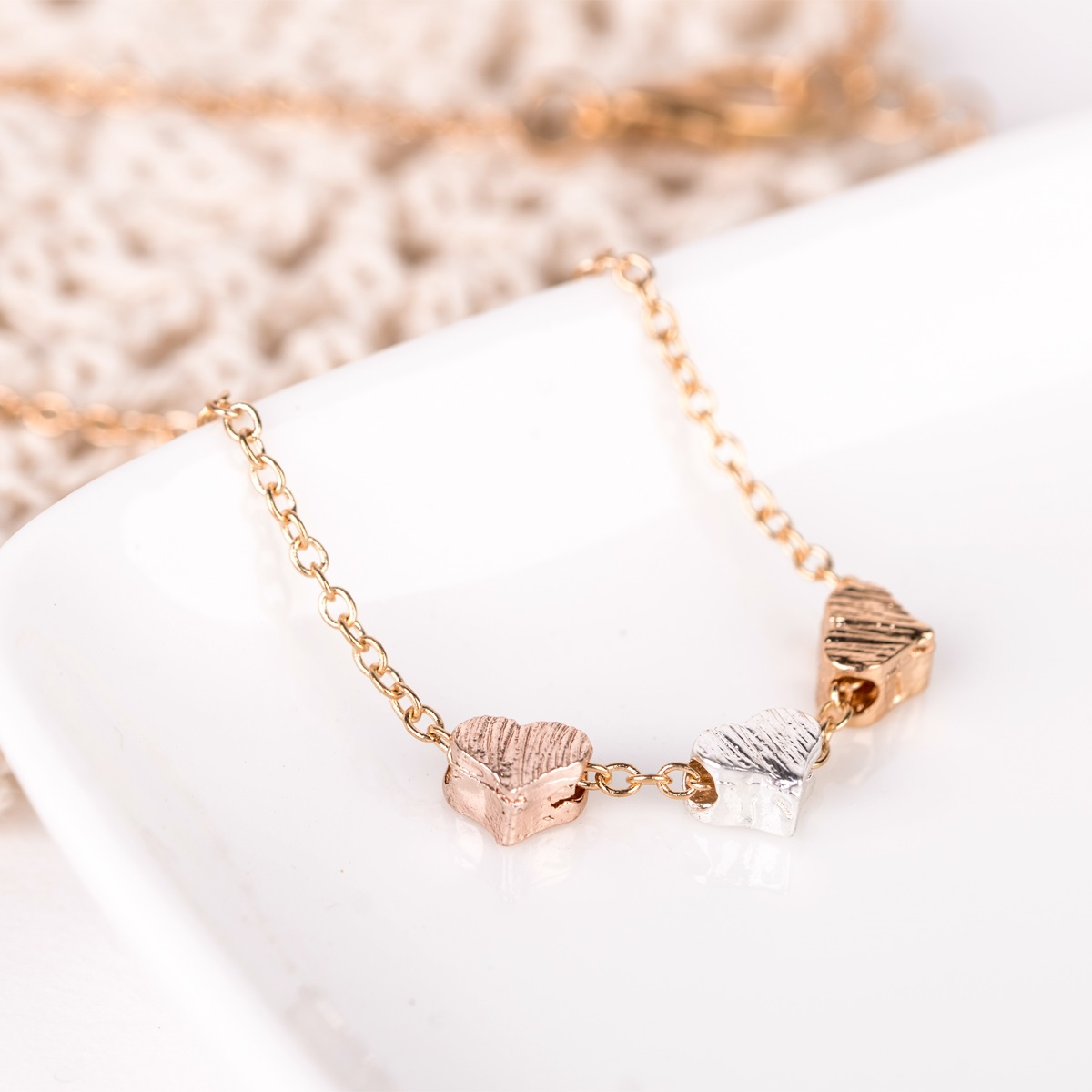 3Heart Necklace